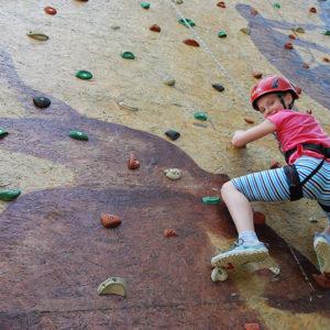 Letní soustředění - lezení