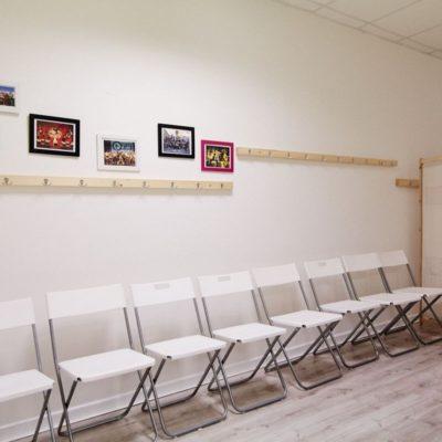 Taneční studio No Limit - šatna