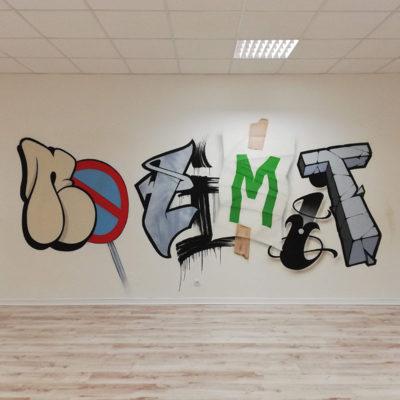 TS No Limit - graffiti logo